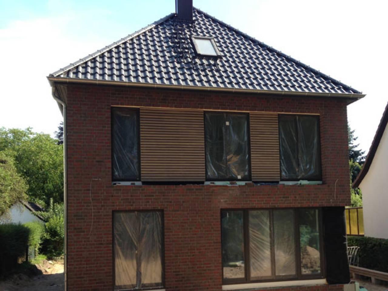 Moderne stadtvilla walmdach  Breyer & Seckbau