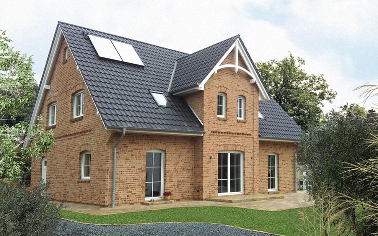 Breyer seck bau casa capitanus kapit nsgiebel for Einfamilienhaus klassisch
