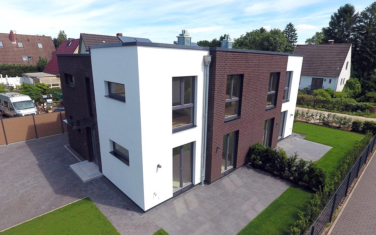 Breyer & Seck Bau - Cubus Duo | Doppelhaus, energetisch, modern