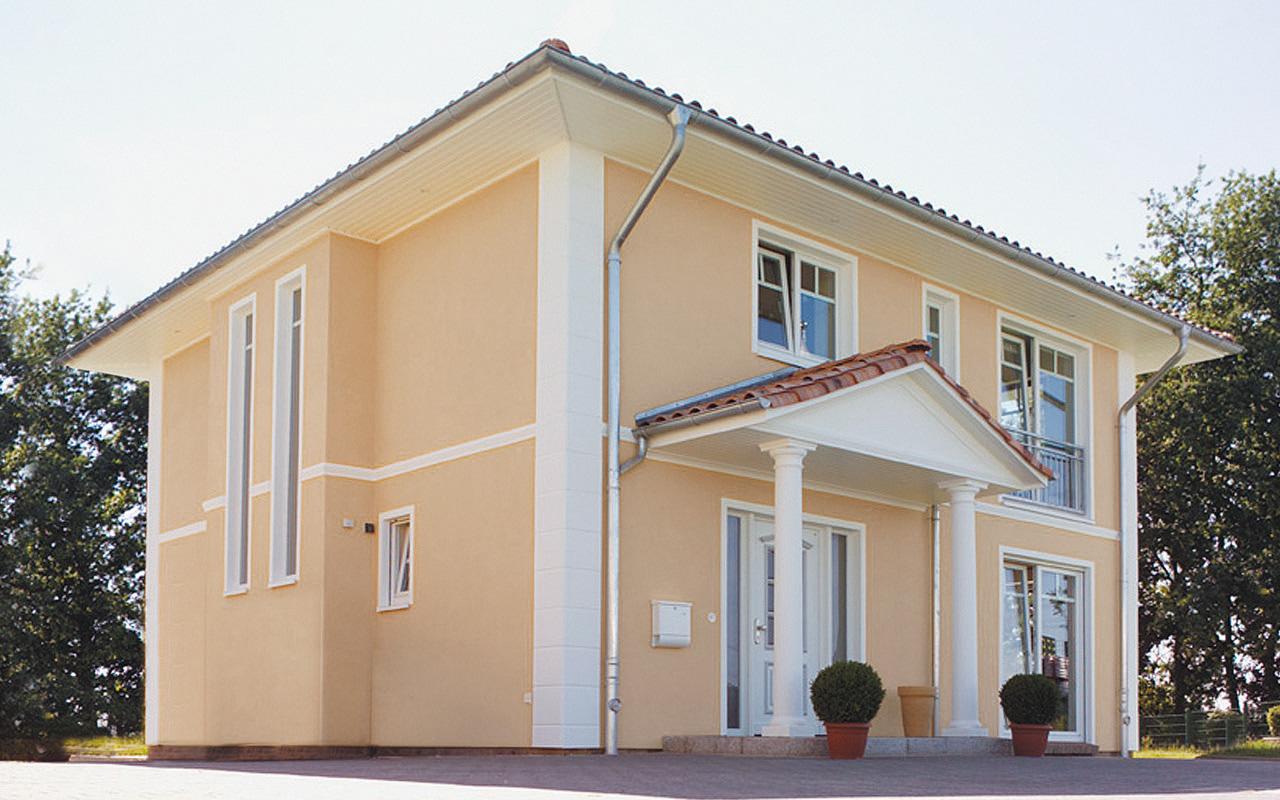 Breyer Seck Bau Villa Classica Stadtvilla Toskanisch Putzfassade